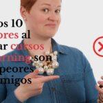 Estos 10 errores al crear cursos elearning son tus peores enemigos